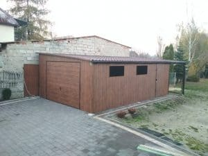 garaze blaszane