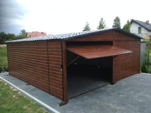 Garaż drewnopodobny